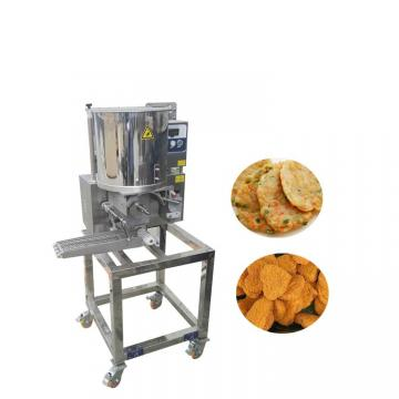 Automatic Hamburger Burger Meat Patty Press Maker Machine