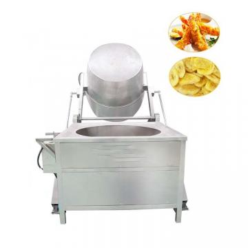 Fresh Potato Chips Production Line Snack Food Frying Equipment
