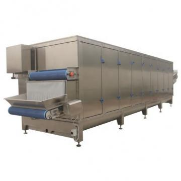 Hot air stainless steel automatic continous tunnel fruit and vegetable drying machine