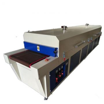 7m length Multifunction Infrared ray Hot air conveyor Drying Tunnel with preheating zone and cooling zone